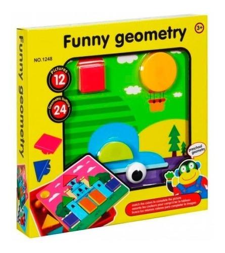 rompecabezas geométrico desarrollo intelectual 3d 2-6 añ mnr