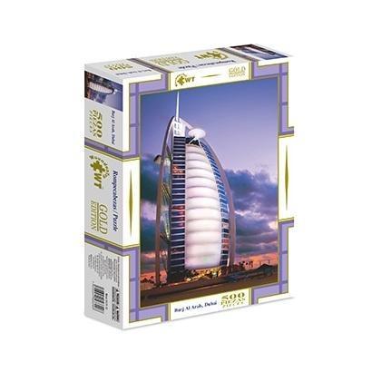 rompecabezas gold edition 500 pzas burj al arab