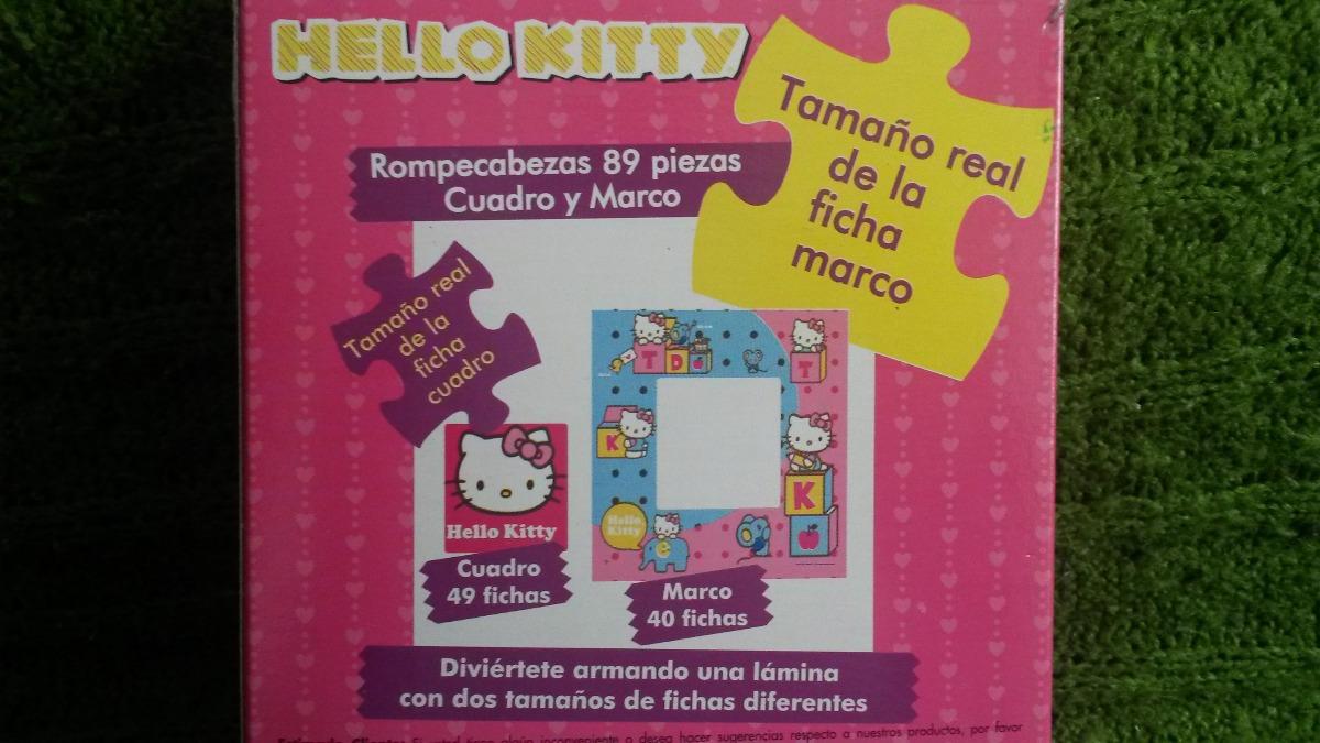 Rompecabezas Hello Kitty Cuadro Y Marco - 89 Piezas - Bs. 890,00 en ...