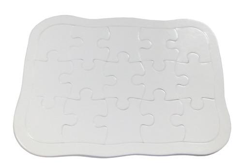 rompecabezas importado 15 pzs cartón sublimable sublimar 50u