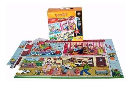 rompecabezas la familia juegos didacticos 28 piezas cuotas