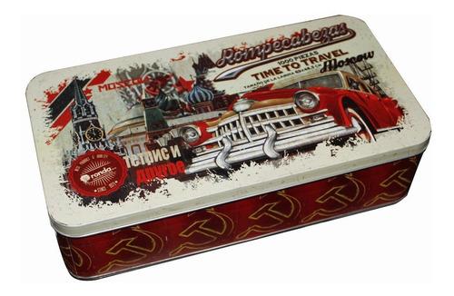 rompecabezas ,lata,vintage 1000 piezas  11448 ronda