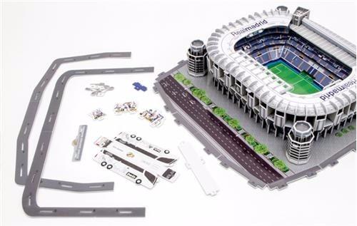 Rompecabezas Maqueta 3d Estadio Real Madrid Bernabeu Nanost -   649 ... d14ed62b2685b