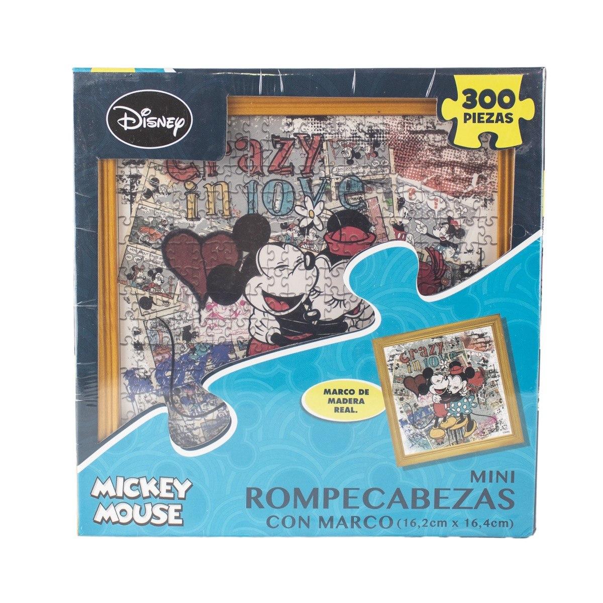 Rompecabezas Marco De Madera Mickey - $ 287.00 en Mercado Libre