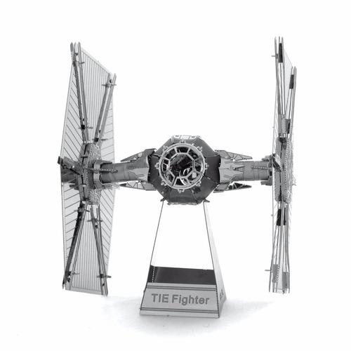 rompecabezas metálicos star wars - tie fighter