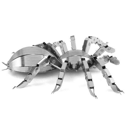 rompecabezas miniatura 3d metálico araña tarántula
