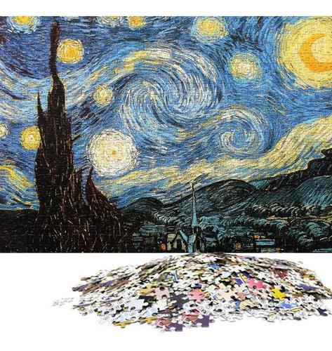 rompecabezas noche estrellada 1000 piezas