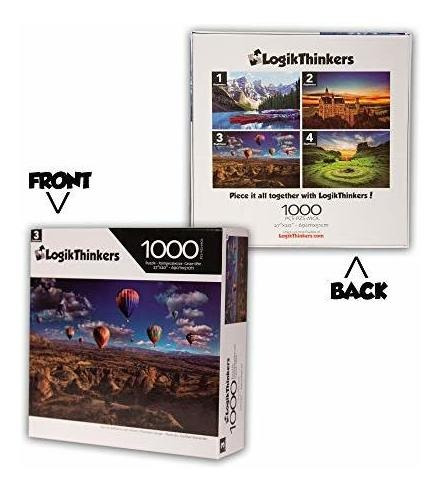 rompecabezas para adultos de 1000 piezas logikthinkers - glo