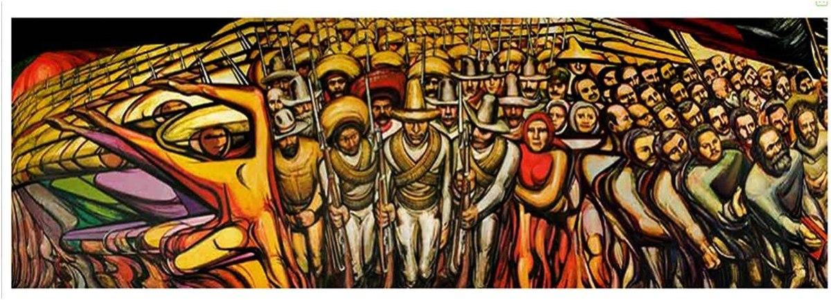 Mural Siqueiros Revolucion