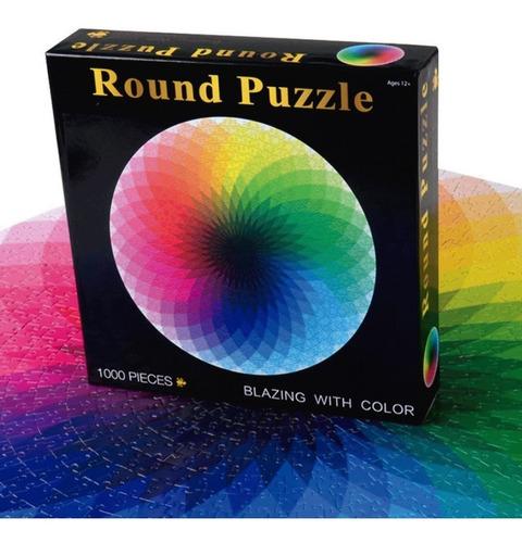 rompecabezas premium 1000 piezas - circulo cromático