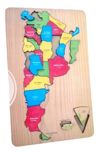 rompecabezas provincias mapa argentina nombre y capitales tk