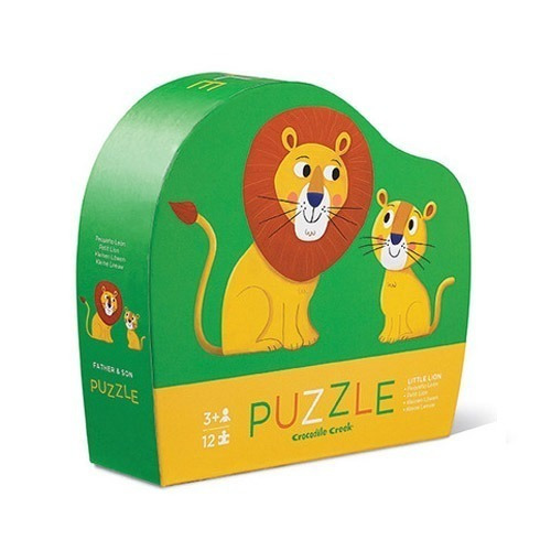 rompecabezas puzzle 12piezas leon