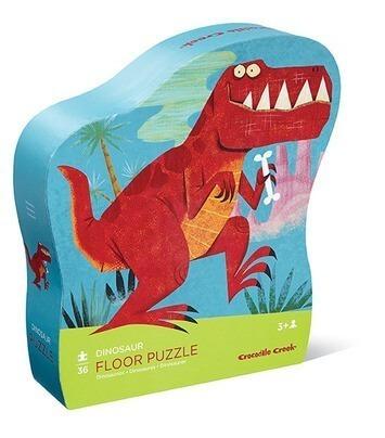 rompecabezas puzzle 36piezas dinosaurio