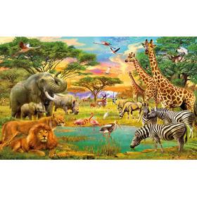 Rompecabezas Puzzle 500 Piezas Animales África Espectacular