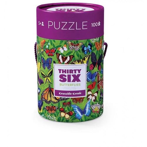 rompecabezas puzzle de 100 piezas mariposas