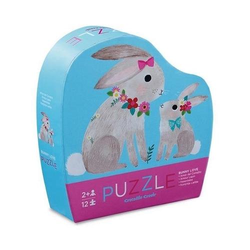 rompecabezas puzzle de 12piezas conejos