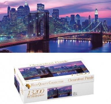 rompecabezas puzzle de 13200 piezas new york clementoni