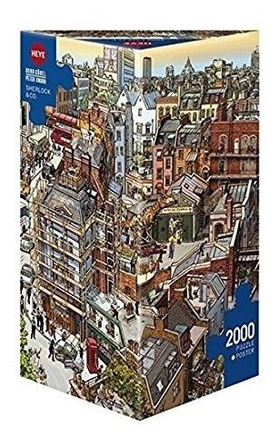 rompecabezas puzzle de 2000 piezas sherloc y co - heye