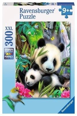 rompecabezas puzzle ravensburger 300 piezas pandas 13065