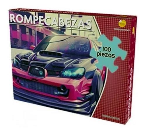 rompecabezas puzzle subaru 100 piezas yuyu ind. arg.