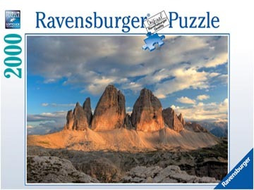 rompecabezas ravensburger 2000 piezas - lavaredo