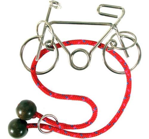 rompecabezas  true genius constantin bike wire puzzle