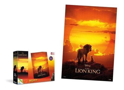 rompecabezas x 1000 pzas rey león