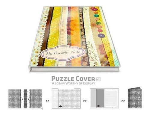 rompecabezas y libreta japanese patchwork