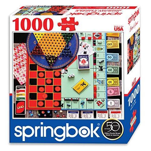 Rompecabezas,springbok Puzzles Juegos De Mesa Jigsaw Puz