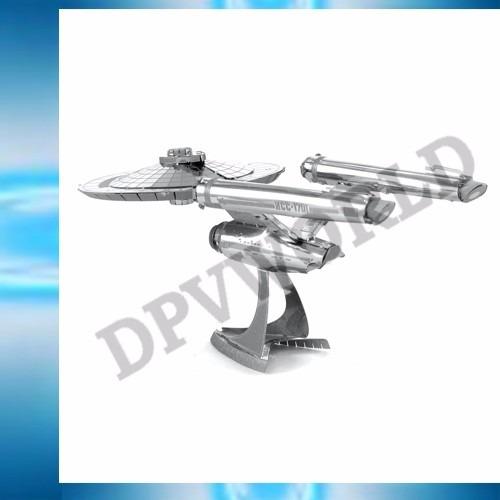 rompecapeza star trek enterprise ncc-1701 3d metalico figura