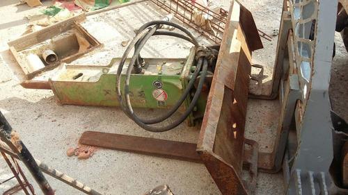 rompedor hidráulico para equipamentos compactos