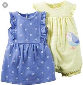 a16ef4b0d255ec Vestido Para Menina Listrado Azul E Branco - Calçados, Roupas e ...