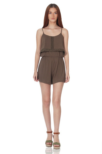 romper de mujer aishop aw171-1118-760 verde