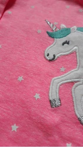 romper macaquinho carters rosa neon  - menina  6 meses