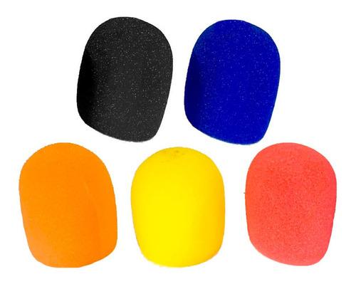 rompevientos filtro anti pop pack x 5 - la roca