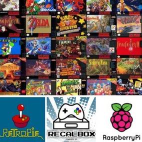 Roms Para Raspeberry Pi, Recalbox, Retropie, Emuladores