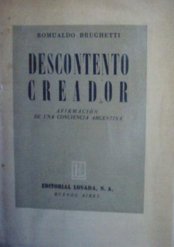romualdo brughetti - descontento creador. dedicado