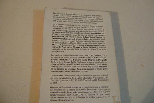 rómulo betancourt (1928-1935).  alejandro gómez.