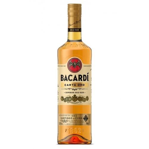 ron bacardi blanco o dorado 1litro - berlin bebidas
