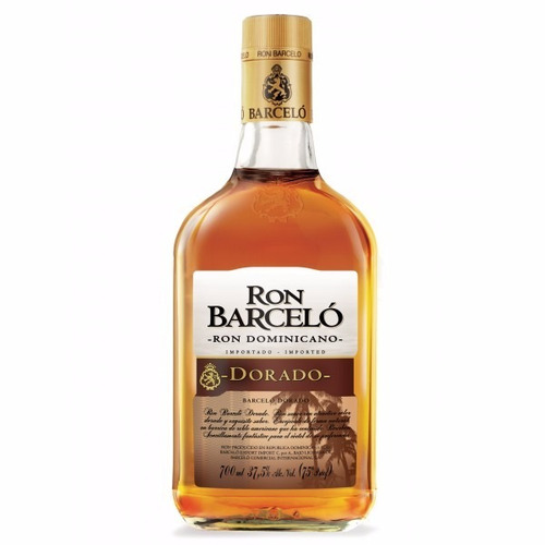 ron barcelo 750ml blanco dorado. berlin bebidas