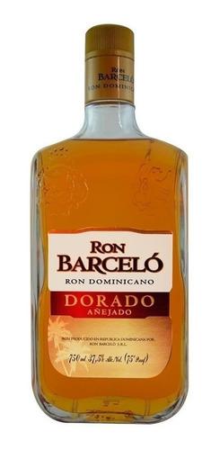 ron barcelo dorado añejado 750ml import republica dominicana
