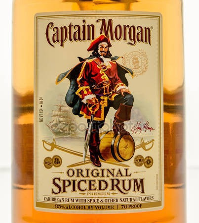 ron capitan morgan 750ml- bayres bebidas