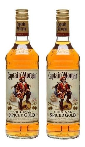 ron capitan morgan original 2 botellas envio gratis en caba