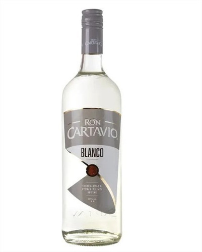 ron cartavio blanco 1 lt licor isc