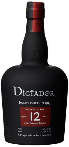 ron dictador solera 12 años- promocion 2 botellas $ 159.000