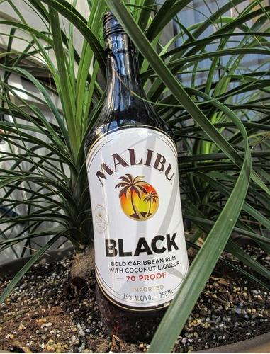 ron malibu black ron del caribe de litro envio gratis caba
