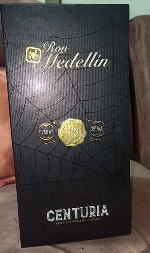 ron medellin centuria 49 años 750ml exclusiva