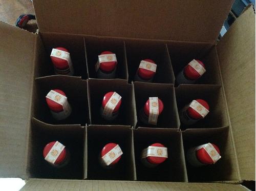ron superior y carta roja por caja