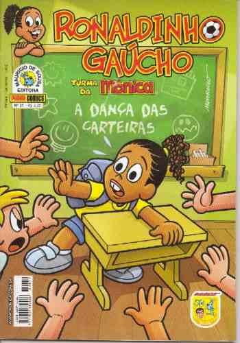 ronaldinho gaucho  revista nº 31  editora panini comics