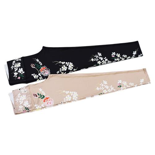 ronda collar sin mangas étnico floral alto cintura deportes